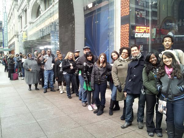 """WCL: """"Shout out to everyone in line today for #WCLSearchForAStar! We'll see you soon"""""""