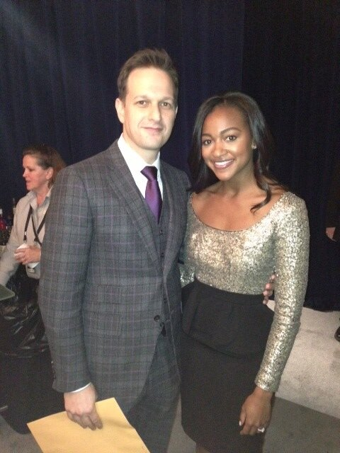"""With Josh Charles of the Good Wife at the #NFLHonors @SuperBowl #NOLA"""