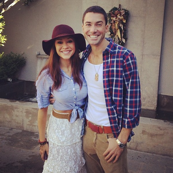 Diana DeGarmo&Ace Young-20130211