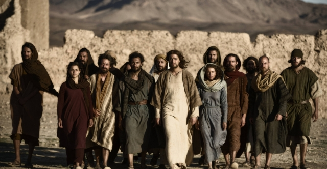 Actors who portray Jesus Christ, Mary, Mary Magdalene and the Disciples.