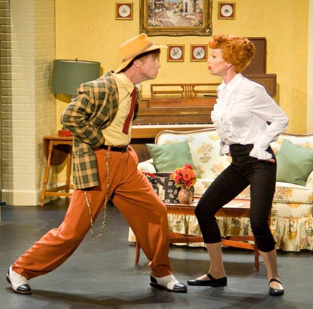 Richard Strimer (as King Katt) and Sirena IrwinPhoto credit: www.justinbarbin.com