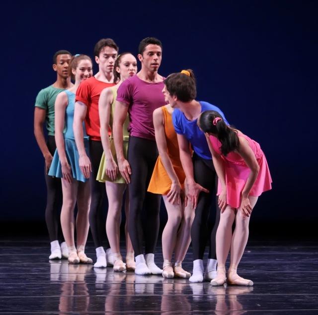 Joffrey Ballet - Interplay - photo by Herbert Migdoll