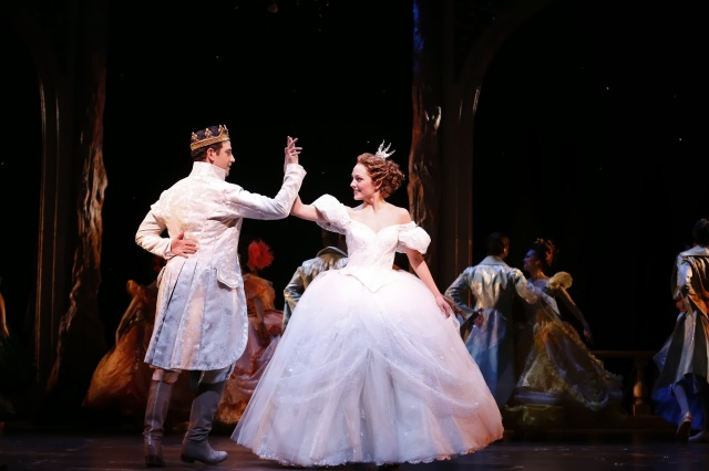 Photo Credit: Santino Fontana and Laura Osnes from the Rodgers + Hammerstein's CINDERELLA Original Broadway Company
