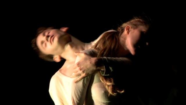 Adam Barruch & Chelsea Bonosky  in 'Belladonna' by Adam Barruch Photo by Nel Shelby Like