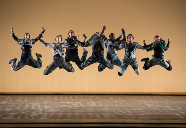 Juilliard's dancers in 'The Jig Is Up' (1) - Photo by Rosalie O'Connor