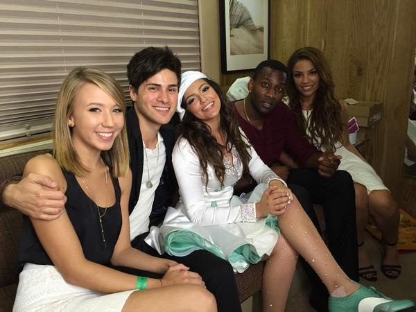Youtube stars hang out with bethany mota at dwts btscelebs credit bethanymota m4hsunfo