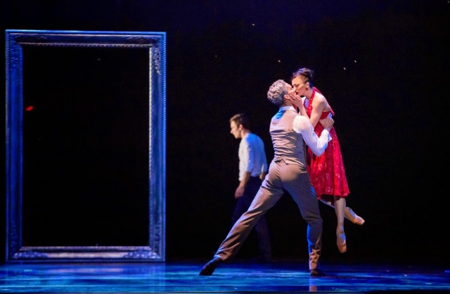 "Fabrice Calmels & Victoria Jaiani in Niclas Blanc's ""Evenfall"". Photo by Cheryl Mann"