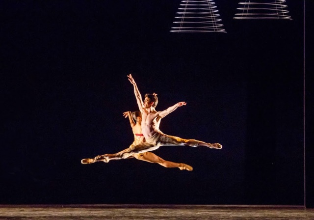 "John Mark Giragosian in Val Caniparoli's ""Incantations"". Photo by Cheryl Mann"