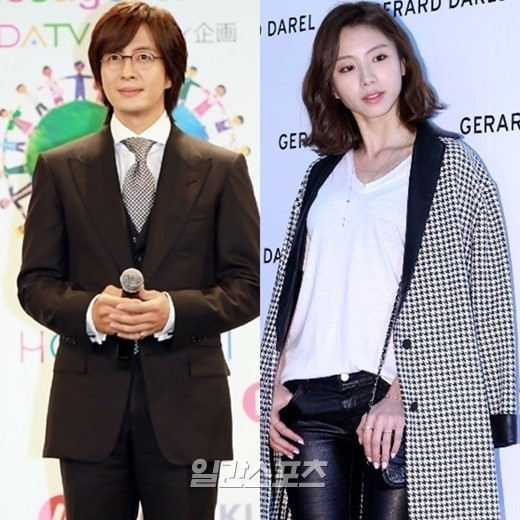 bae yong joon and park soo jin to wed btscelebs